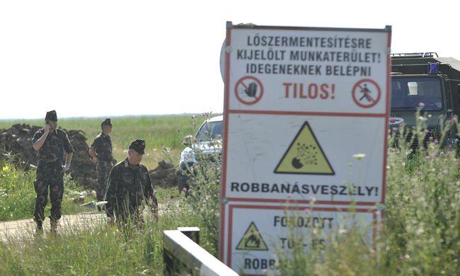 Előléptették a Hortobágyon elhunyt tűzszerészeket