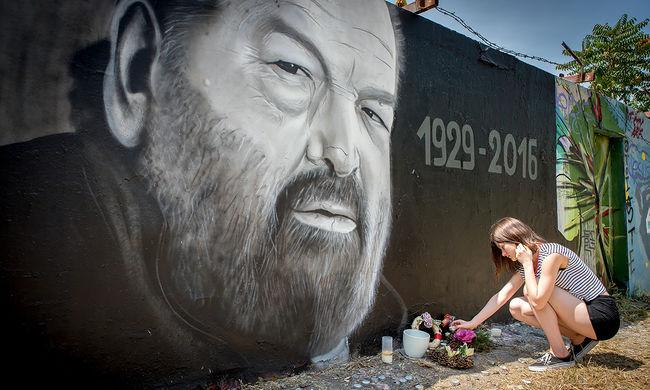 Így emlékeznek Bud Spencerre a budapesti rajongók
