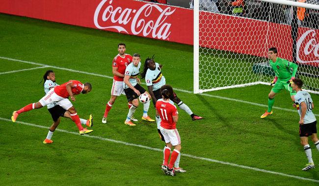 Wales remek játékkal ütötte ki a belgákat, jöhet Portugália