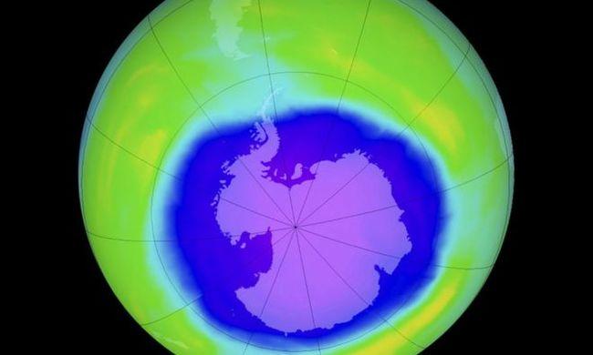 Fantasztikus felfedezés: elkezdett begyógyulni az ózonlyuk az Antarktisz felett