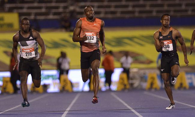 Pánik Jamaicában: Usain Bolt megsérült az olimpia előtt