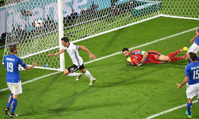 Drámai körülmények között jutott elődöntőbe Németország az Eb-n