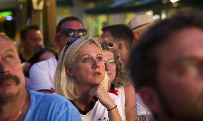 A stadionnál robbantottak a francia-izlandi meccs előtt