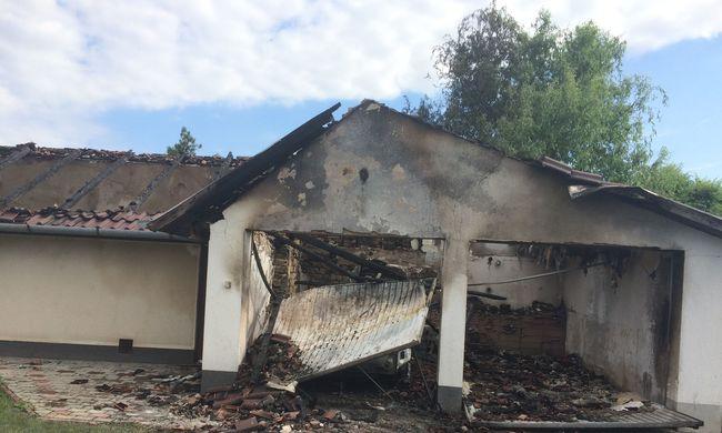 Volt feleségére és magára gyújtotta a házat egy férfi
