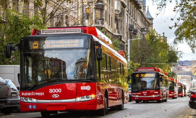 Új trolik és villamosok lepik el jövőre a fővárost