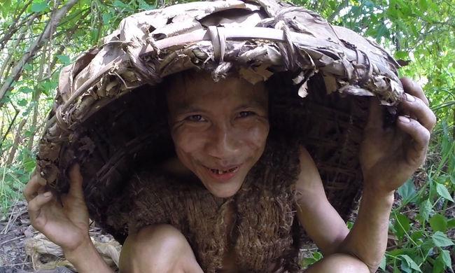 Megtalálták az igazi Tarzant, 41 évet élt a dzsungelben a férfi, ő az