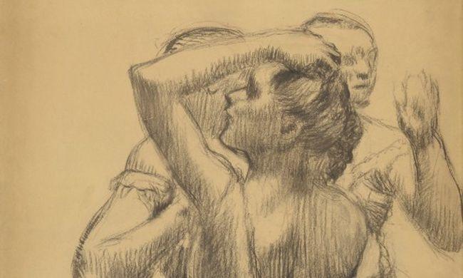 Félmillió eurót ért a nácik által elkobzott, táncosnőket ábrázoló rajz
