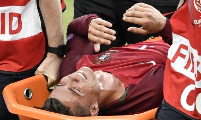 Kiderült, mi Ronaldo sérülése!