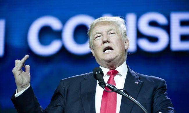 Kínos helyzetbe került Donald Trump