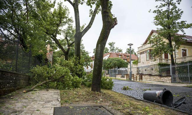 Így csapott le a pusztító vihar