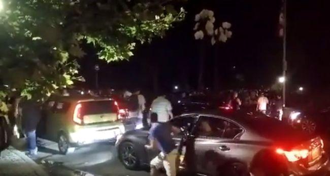 Több százan árasztották el a parkot a ritka Pokémonért, a kocsikat az út közepén hagyták - videó