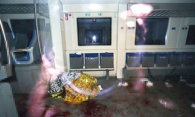 Egy 17 éves afgán migráns rendezett vérfürdőt egy német vonaton