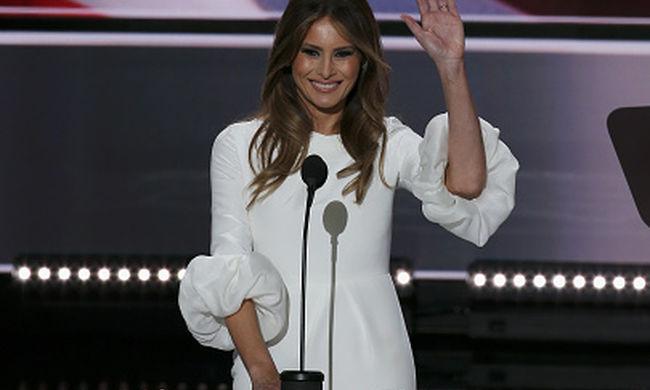 Így védi nőket ócsárló férjét Melania Trump