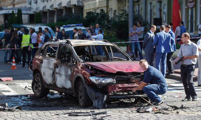 Az autójában robbantották fel az újságírót