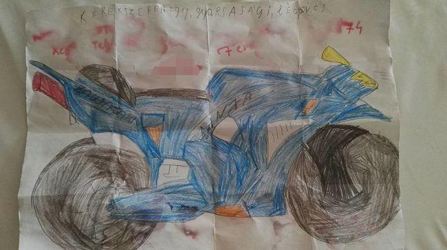 Palackpostába rejtette kívánságát a magyar kisfiú, keresik a rajz tulajdonosát