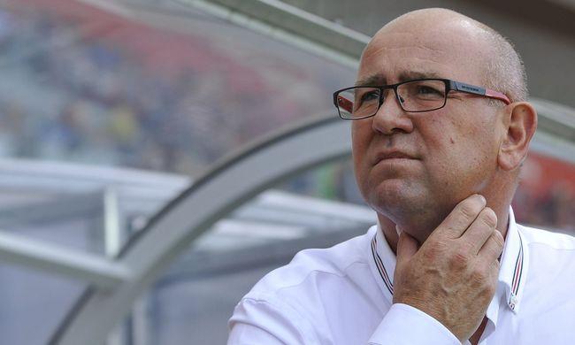 Lemondott a debreceni focicsapat vezetőedzője