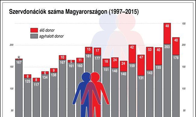 A miskolci férfi szervei külföldiek életét is megmentik