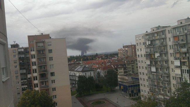 A szomszéd településről is lehetett látni a füstöt - fotó