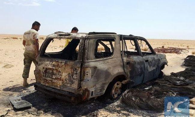 Bomba robbant egy lakónegyedben, sok halott