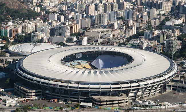 Felrobbantottak egy szerszámosládát az olimpia egyik stadionjában