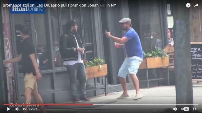 Elképesztő videó! Di Caprio a nap trollja!