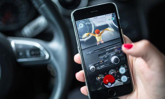 Iskolának hajtott egy fiatal a kocsijával, mert az út helyett a Pokémonokat nézte