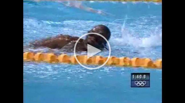 Majdnem megfulladt verseny közben az olimpián!