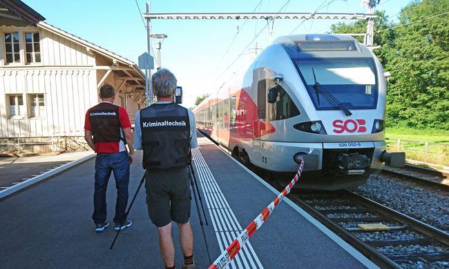 Ketten haltak bele a svájci vonaton rendezett vérfürdőbe
