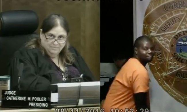 Fenekét rázta a bíróság előtt az autótolvaj - a bírót nem nyűgözte le - videó