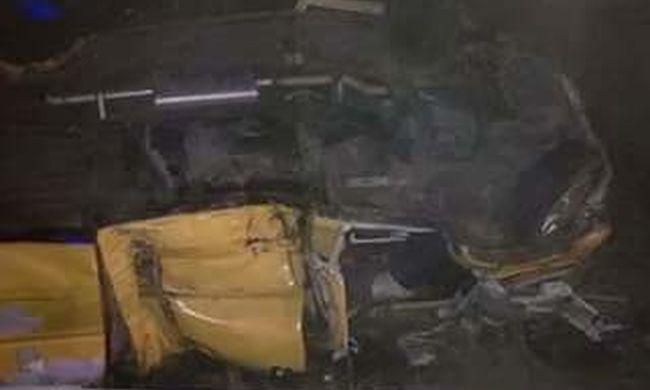 Tíz sérültje van a súlyos balesetnek az M7-esen