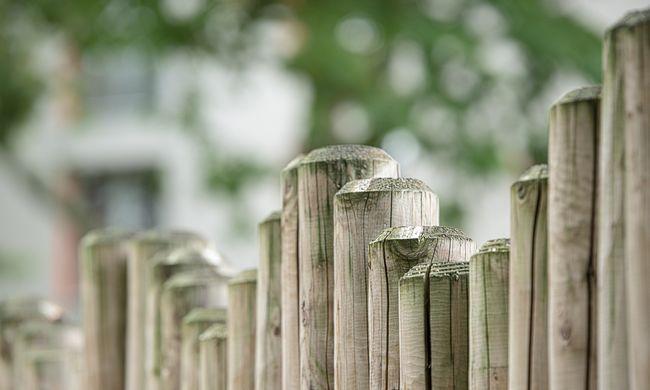 Lepisilte, nyalogatta, majd szerelmeskedett a kerítéssel