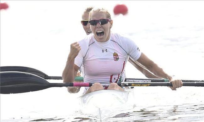 Újabb magyar arany: Szabó Gabriella és Kozák Danuta győzelemmel kezdett az olimpián