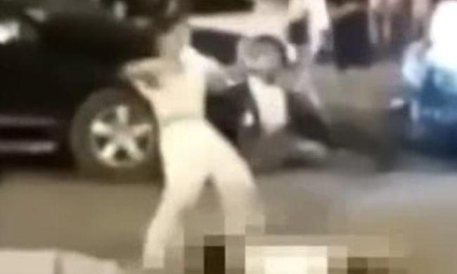 Sokkoló videó: elütötte a gyalogost, majd táncolni kezdett a mozdulatlan test felett