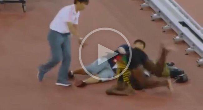 Baleset! Az áldozat Usain Bolt!