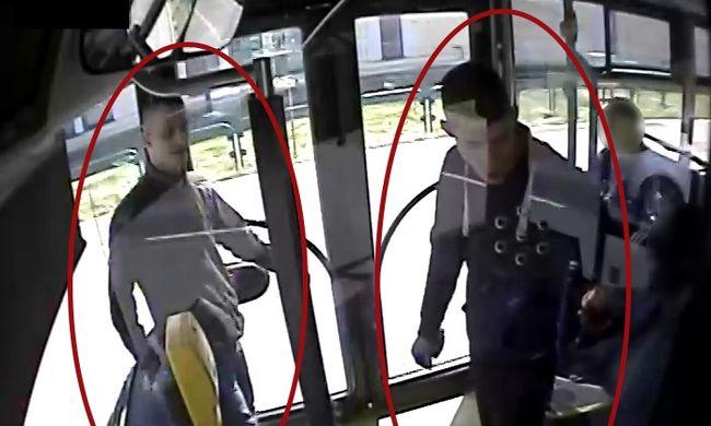 Késsel fenyegették a buszsofőrt - felismeri őket? - videó