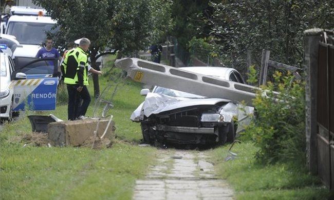 Súlyos gázolás: mentőhelikopter vitte el az újraélesztett lányt