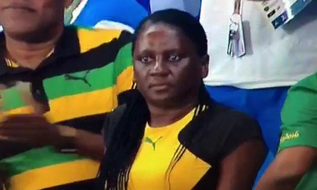 Dicséret helyett ezt kiabálta a győztes Usain Bolt édesanyja