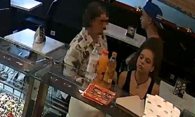 Közeli fotó készült az éttermi tolvaj tinikről. Felismeri őket?