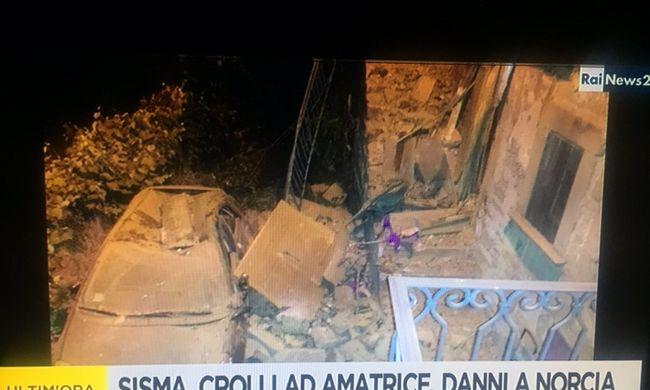 Recsegtek a falak, sétálni kezdett az ágy - így élték meg az olaszországi földrengést, halottak is vannak