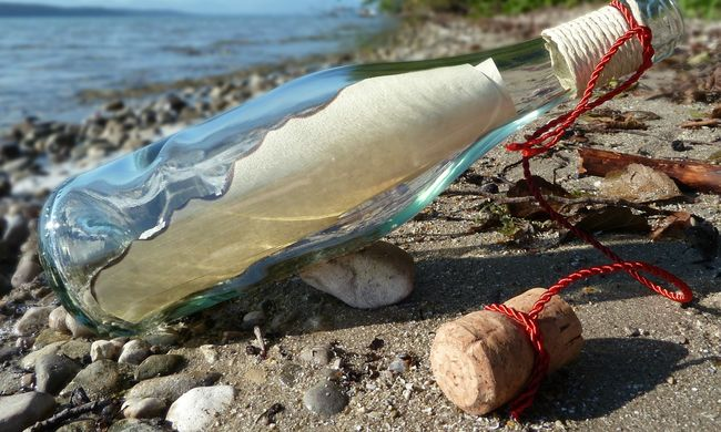 Üzenet a palackban: nem várt véget ért a romantikus történet