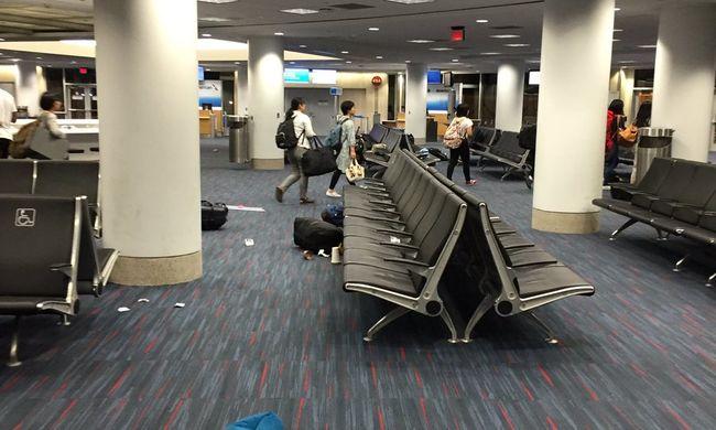 Mosdókban barikádozták el magukat, lövöldözés volt a Los Angeles-i repülőtéren