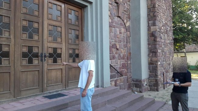 Templomi perselyt lopott a férfi