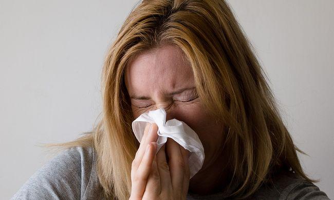 Ha allergiás, akkor újabb rettenetes hétvége vár Önre!