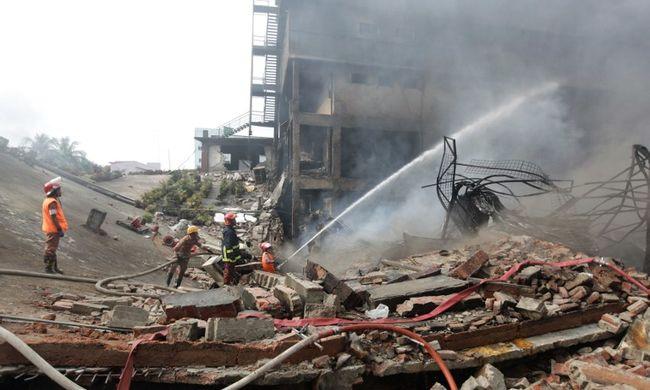 Felrobbant a kazán, még mindig találnak holttesteket a romok alatt
