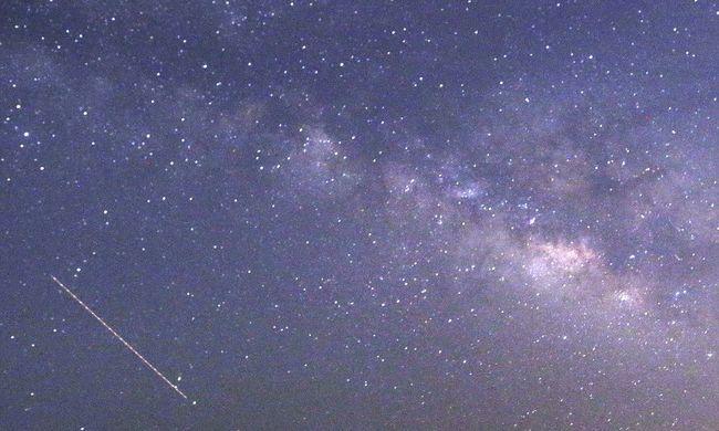 Lenyűgöző látvány, egy tűzgömb jelent meg az égen - videó