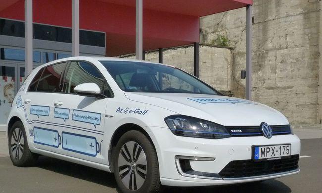 Volkswagen e-Golf teszt: jobb, mint az igazi