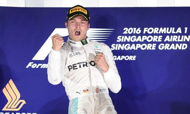 Rosbergnek szerencsét hozott a jubileum