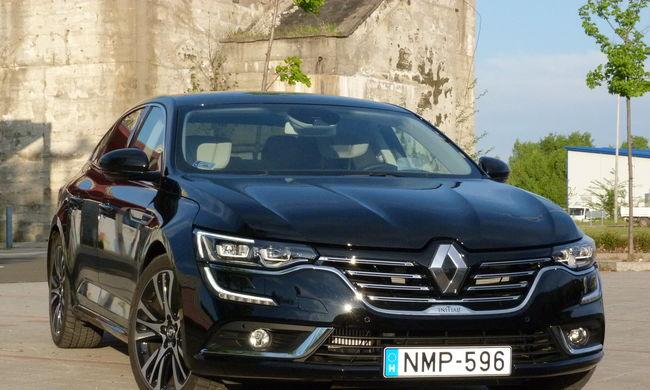 Renault Talisman teszt: nagyban játszik