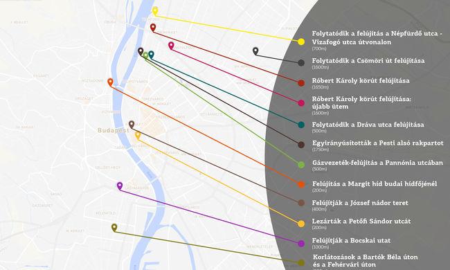 Félmaratoni távon dugó lehet Budapesten