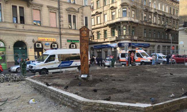 Hatalmas káosz Budapesten, nem jár a villamos sem